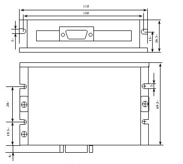 2,驱动器内部限流电阻270ω 573hbm10-1000 573hbm20-1000